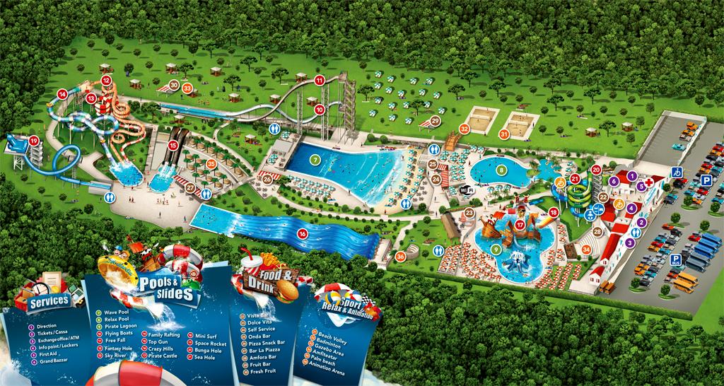 Istralandia Aquapark, Novigrad